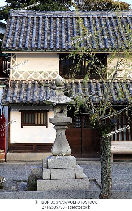 Japan, Kurashiki, street scene, typical architecture,