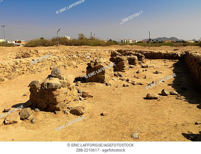 The name Al-Ukhdud means 'the ditch' (sometimes 'the trench', sometimes 'the groove') and is mentioned in the Holy Quran as the site of a massacre of Christians...