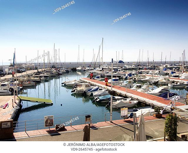 Marina Marbella. Malaga province Costa del Sol, Andalusia, Spain Europe