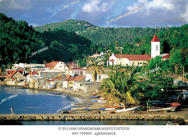 Marigot. Saint Martin. Department of Guadeloupe. France