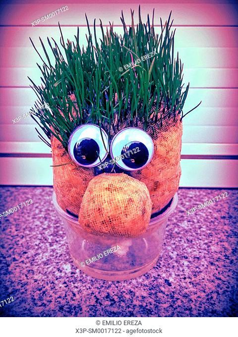 Grass doll