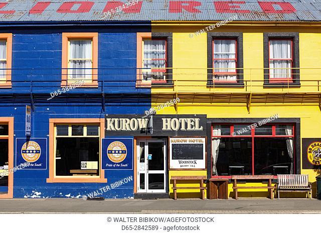 New Zealand, South Island, Canterbury, Kurow, Kurow Hotel
