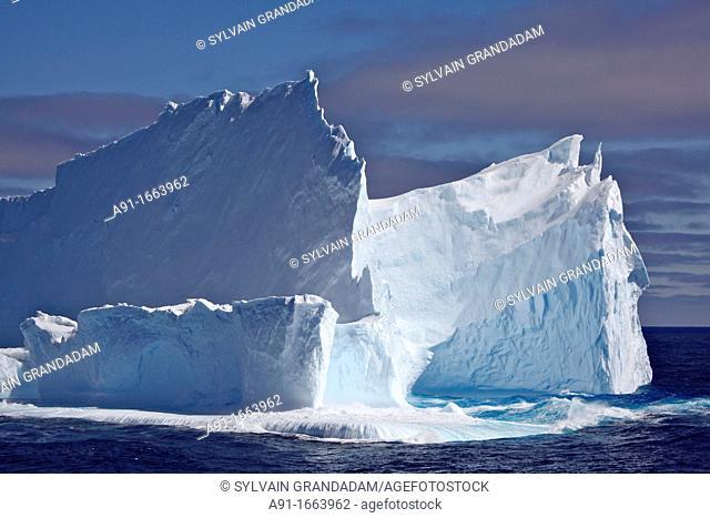 Icebergs in the Weddell Sea, Antarctica