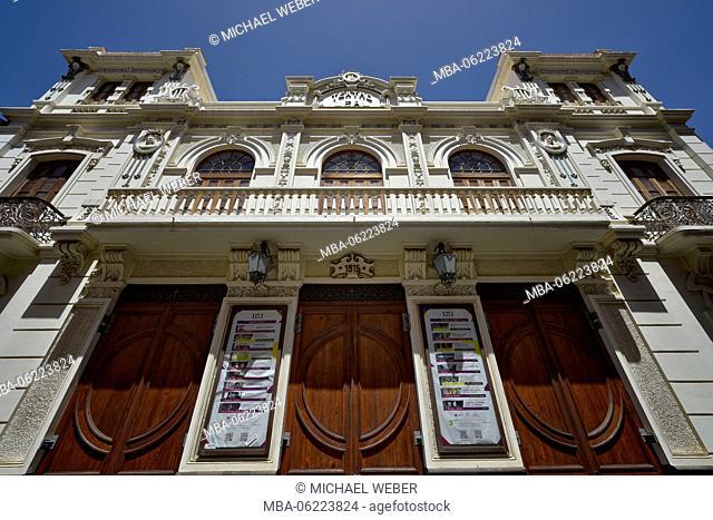 Teatro Leal, cinema in a former mansion, San Cristobal de La Laguna, Tenerife, Canary Islands, Spain
