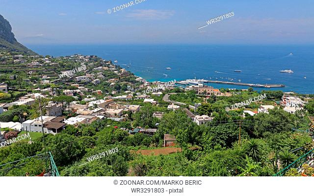 Capri Island View From Top