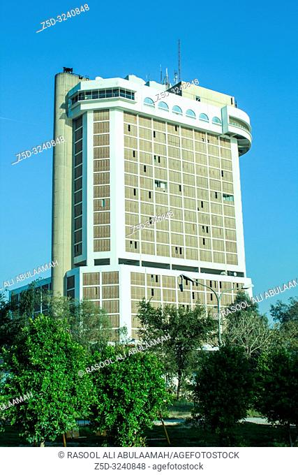 Baghdad, Iraq – January 20, 2014: photo for Sheraton Ishtar Hotel in Baghdad city in Iraq, is the one of the biggest hotel in Baghdad