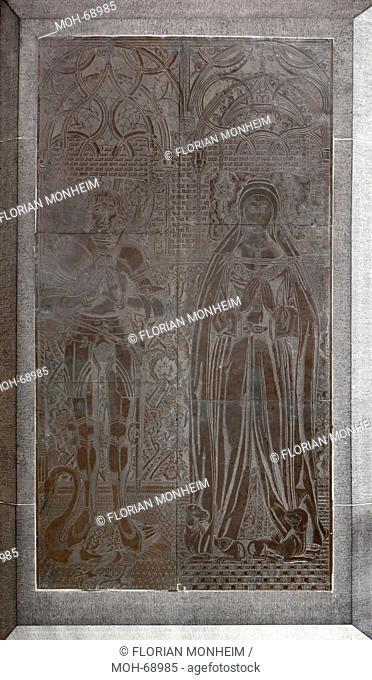 Fürstengruft, Grabmal für Herzog Johann I. 1449 - 1481 und seine Gemahlin Elisabeth von Burgund-Étampes, Anfang 16. Jhd