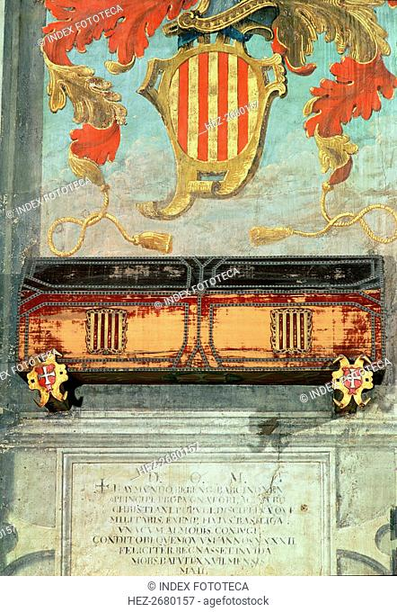 Wall Paintings and tomb of the Count of Barcelona Ramon Berenguer I 'the Older' (1024 - 1076)