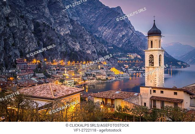 Limone sul Garda, Garda Lake, Lombardy, Italy