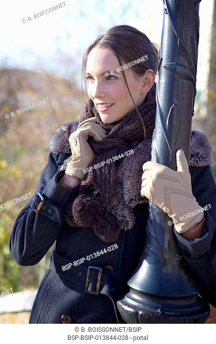 Woman outdoors
