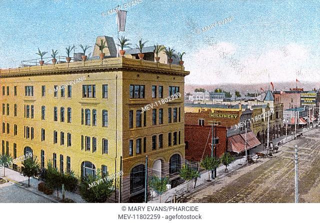 Bakersfield Oil Exchange, Bakersfield, Kern County, USA