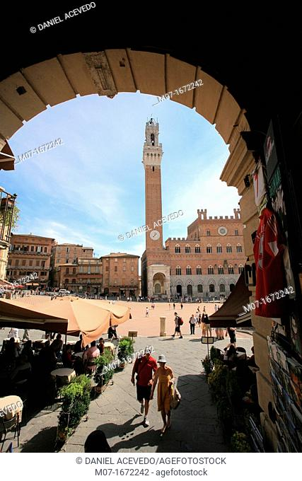 Siena, Piazza del Campo, Siena Square