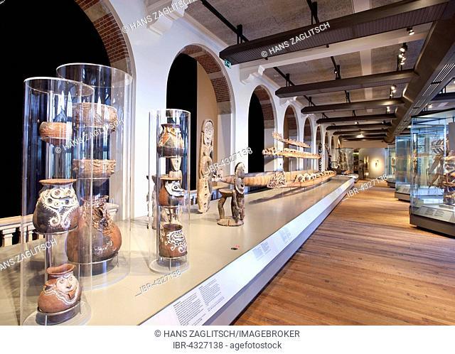 Exhibition room, Tropenmuseum ethnographic museum, Amsterdam, The Netherlands