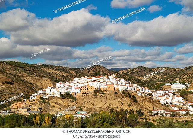 The White Town of Torre Alháquime. Cádiz province, Andalusia, Spain
