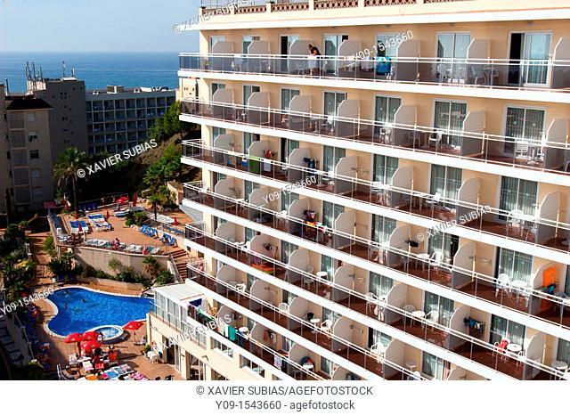 Hotel, Calella, Maresme, Catalonia, Spain